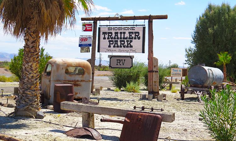 Shoshone Trailer Park
