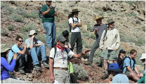 Shoshone geology