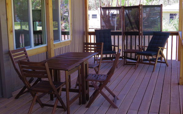 Shoshone Vacation Rentals Porch