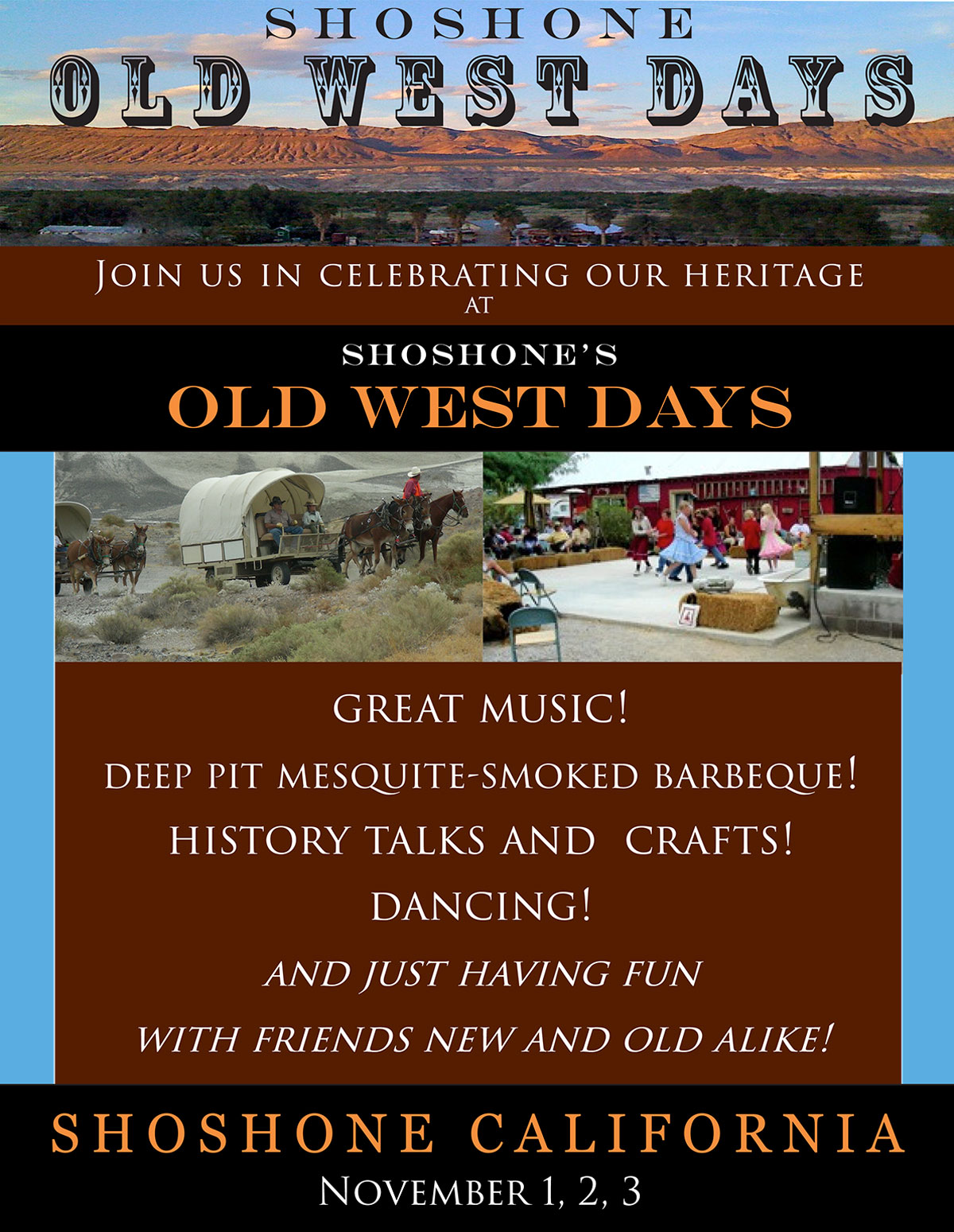 Shoshone Old West Days